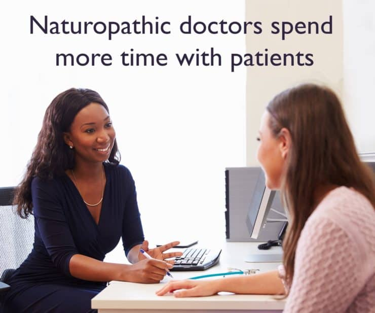 Why Do Naturopathic Doctors Spend Between 1 And 2 Hours With Patients In An Appointment