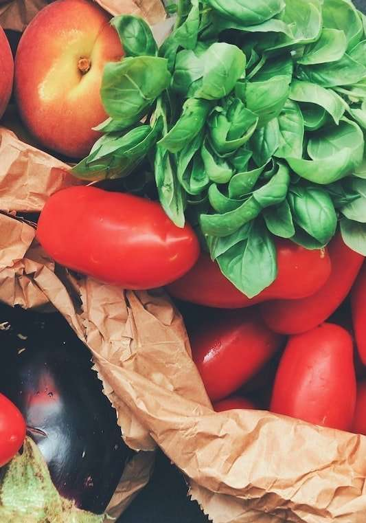 fruits and vegetables lower stress