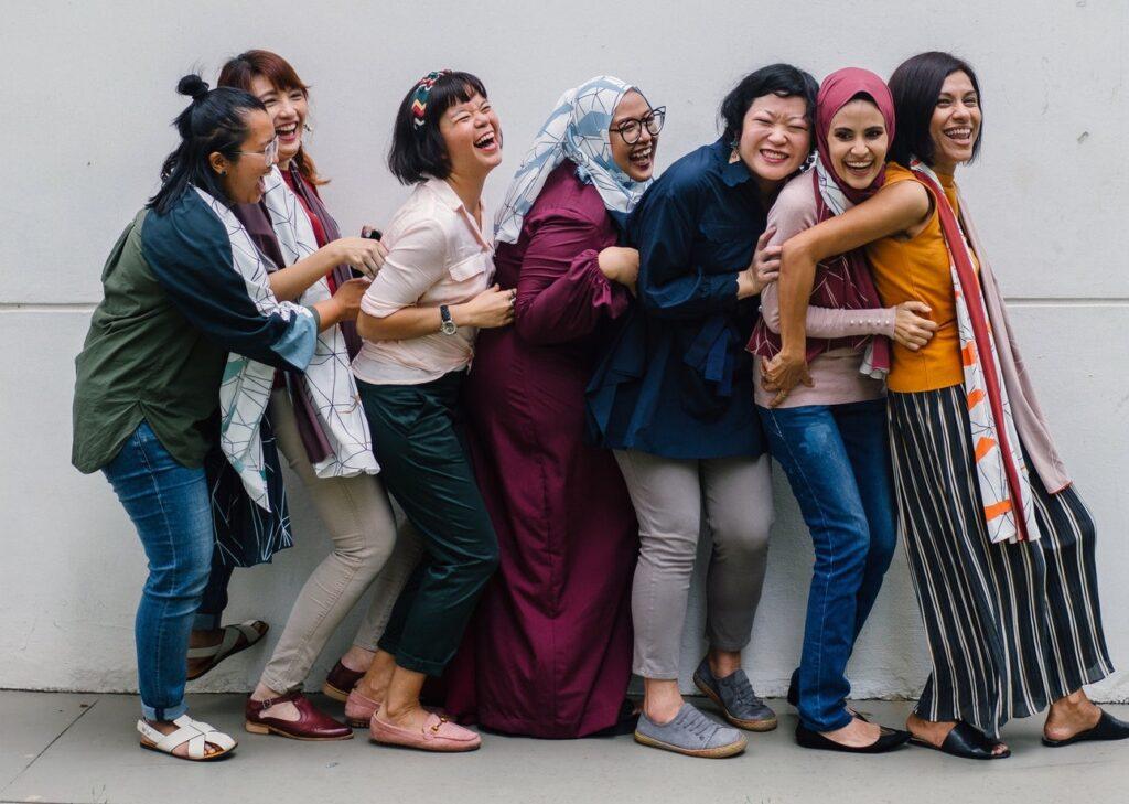 female friendships relieve stress